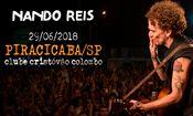 Nando Reis em Piracicaba/SP dia 29/06