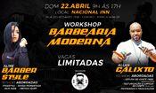 Workshop barbearia Moderna