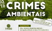 Palestra Crimes Ambientais