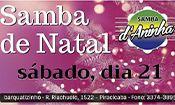 Samba de Natal com Samba d'Aninha