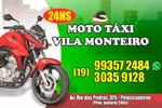 Moto Táxi Vila Monteiro Express