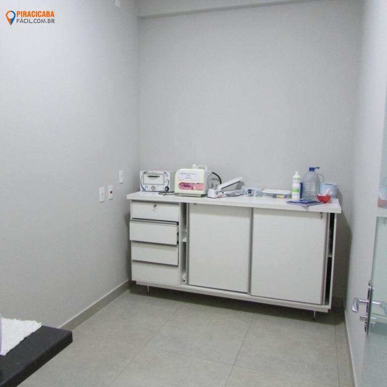 Sala comercial para locação, Centro, Piracicaba - SA0168.