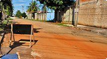 Prefeitura inicia serviços para a pavimentação da rua Hélio David Formaggio