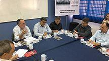 Prefeito e Secretário de Trabalho e Renda participam da reunião do ComEmprego